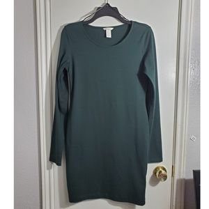 Hunter green dress